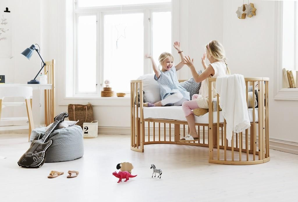 Popular Flexible bed that grows with the child from approx 0 10 years Stokke Sleepi Convertible Crib in Natural Idea - Elegant convertible bed In 2019