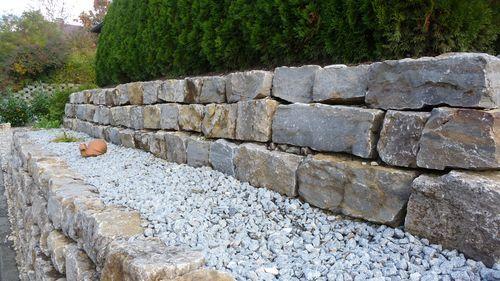 muschelkalk glomarust mauersteine terrassengestaltung pinterest muschelkalk jura marmor. Black Bedroom Furniture Sets. Home Design Ideas