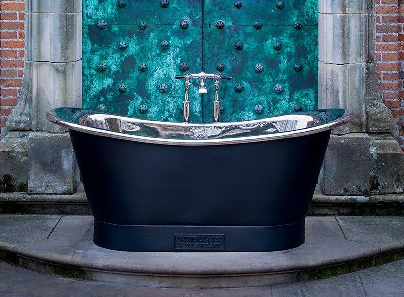 Nickel Bath - The Nickel Bateau Luxury Freestanding Bath   Victorian ...