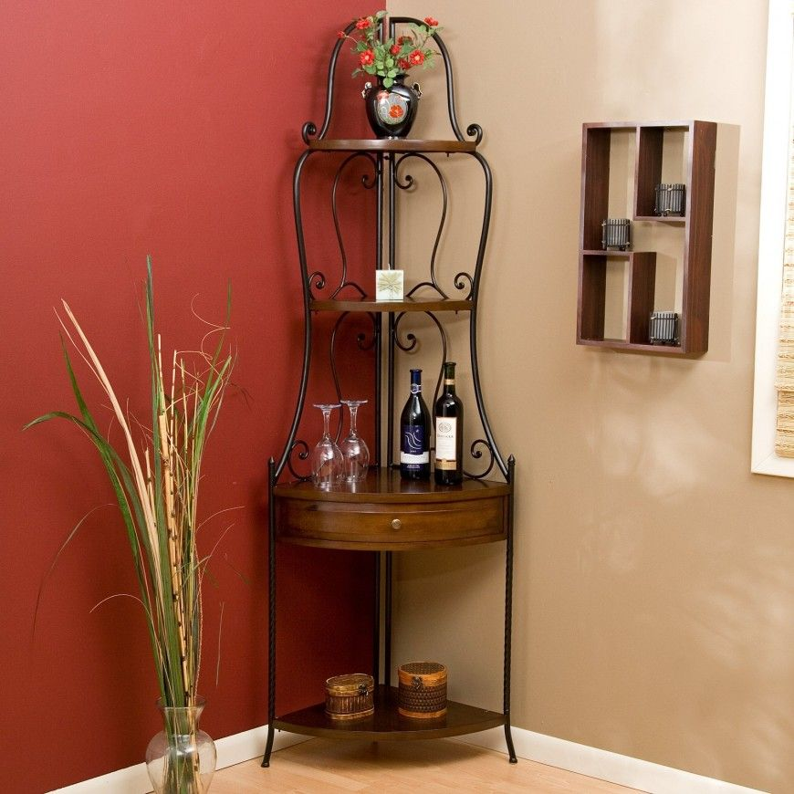 35 Home Storage Ideas Room By Room Bakers Rack Decor Wood