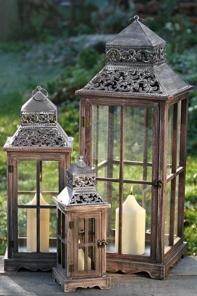 Lampion Latarnia Mały Artykuły Dekoracyjne Do Domu