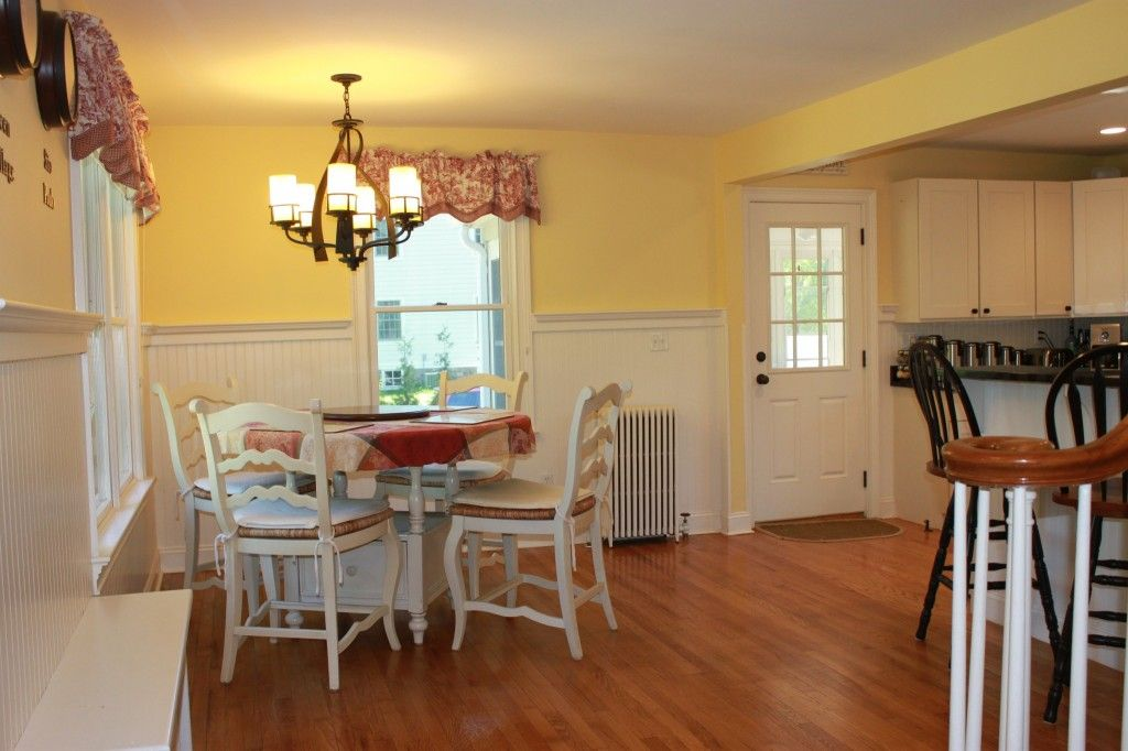 Types of Beadboard | bright cheery yellow paint color was chosen ...