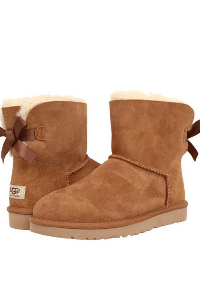 b617ad264097 W UGG Mini Bailey Bow - Chestnut