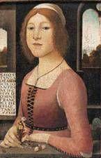 Fra Bartolommeo, 1480-1490  Costanza de' Medici Caetani