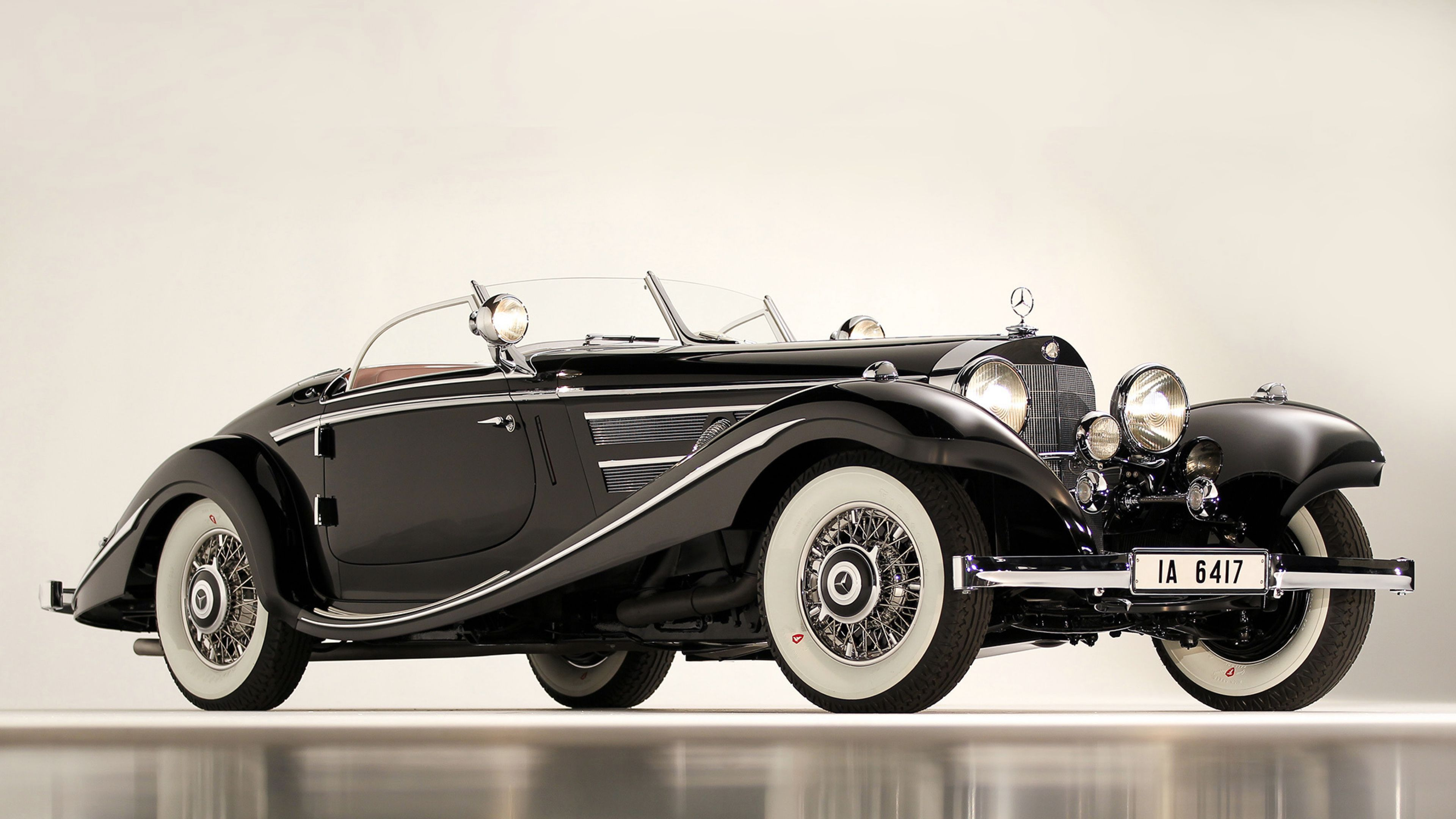 3840x2160 Wallpaper Mercedes 1936 540k Special Roadster Classic