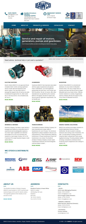 Bradford Armature Winding Co Ltd Electric Motor Sales