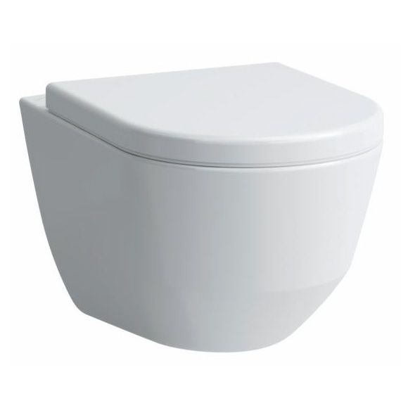 Fantastisch Laufen pro Wand-Tiefspül-WC L: 53 B: 36 cm, spülrandlos weiß mit  SK86