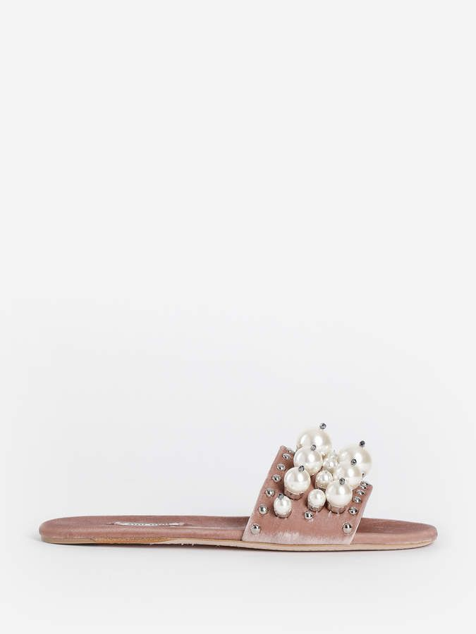 0a1dba8356e Miu Miu Sandals 5XX1163I34 F0770 | Products | Miu miu sandals ...
