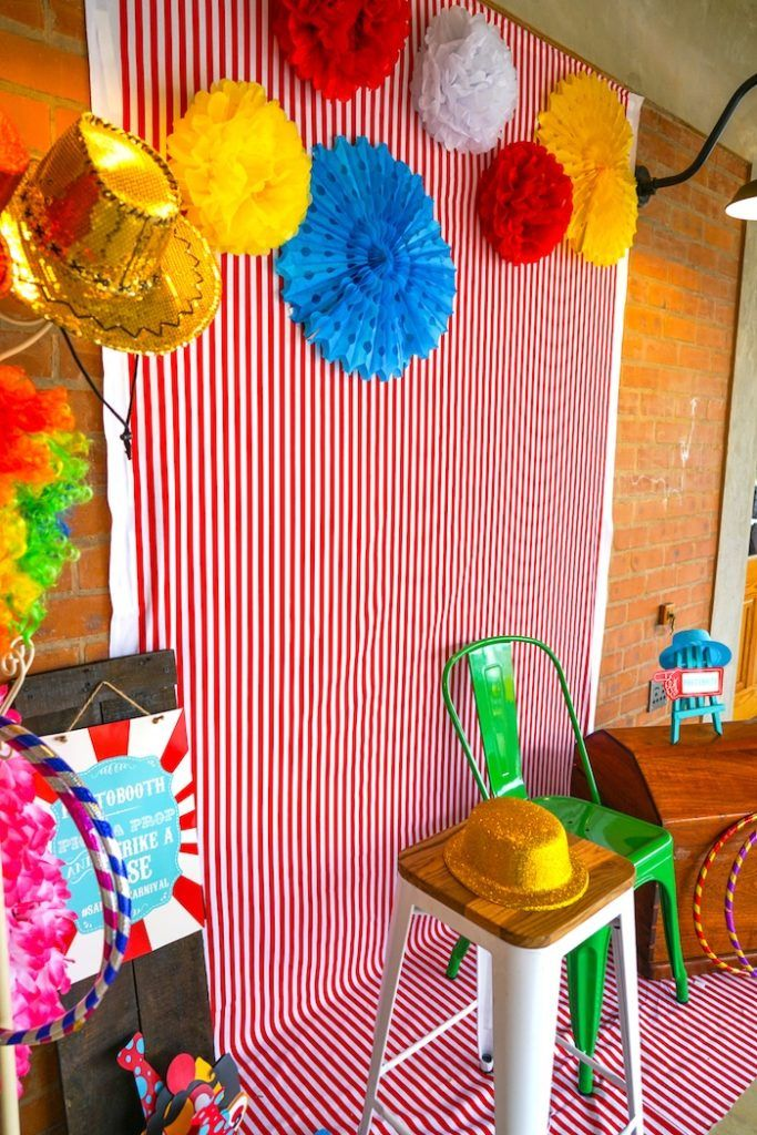 Backyard Carnival Party   Backyard carnival, Carnival ...