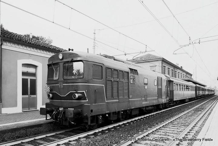 Treno delle Castagne 2015 - FTI - Stazione di Cesena #rimini cesena marradi trenovapore http://buff.ly/207vvqO