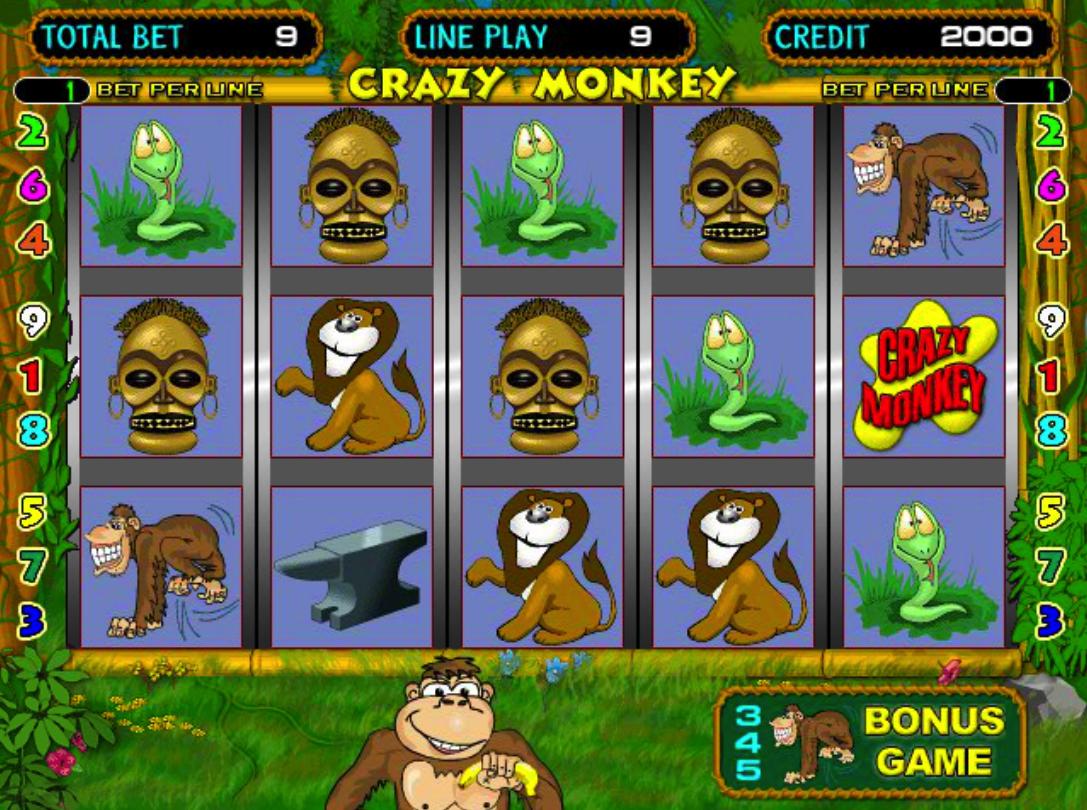 игровые автоматы играть обезьяны