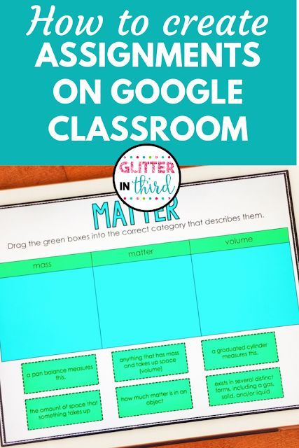Do you need help creating an assignment for students on Google Classroom using an…