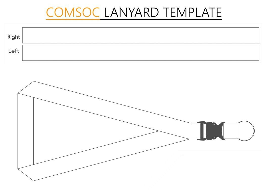 Computer Society Comsoc Lanyard Template By Codenamecyrus D7isfih For Lanyard Template Psd Lanyard Designs Lanyard Templates