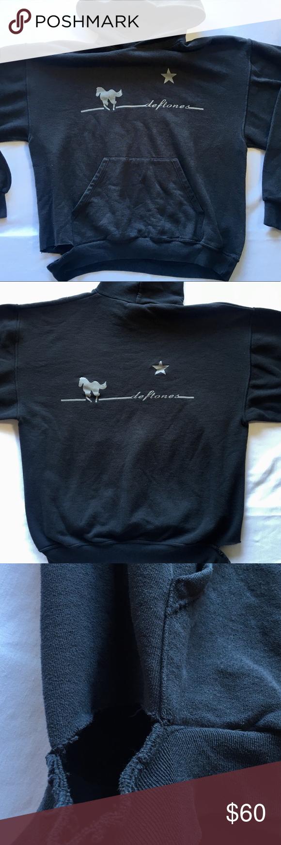 Deftones Hoodie Hoodies Tops Designs Women Shopping [ 1740 x 580 Pixel ]
