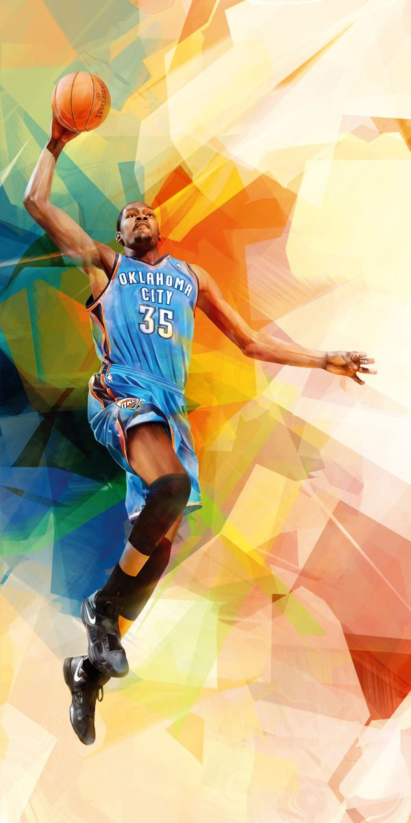 158ab9f4d05 Kevin Durant. Portraits for Nike Harlem House Of Hoops by Denis Gonchar