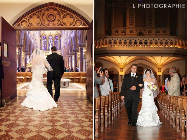 Wedding Songs Walk Down Aisle Church: Walking Down The Aisle At College Church At SLU