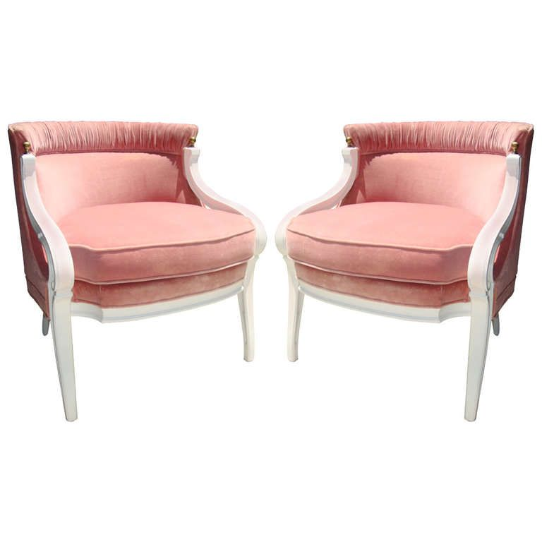 Pair of Mid Century Regency Chairs | Regency, Mid century and Armchairs