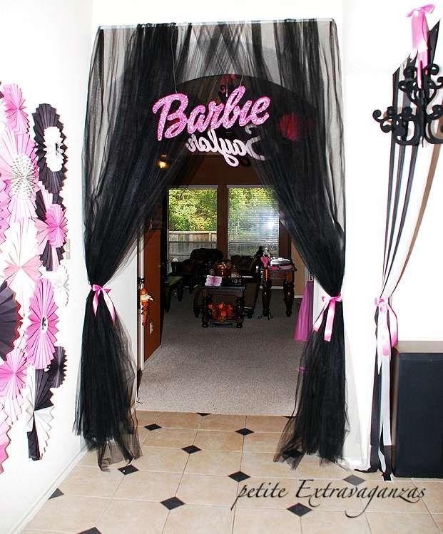 Vintage Barbie Birthday Party Ideas Barbie birthday party Barbie