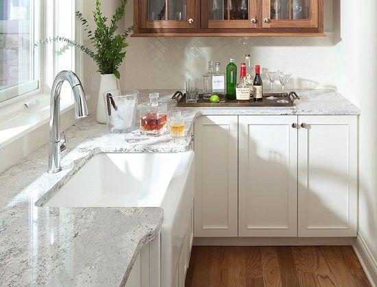 White Kitchen Cabinets Quartz Countertops Chandler Kitchen