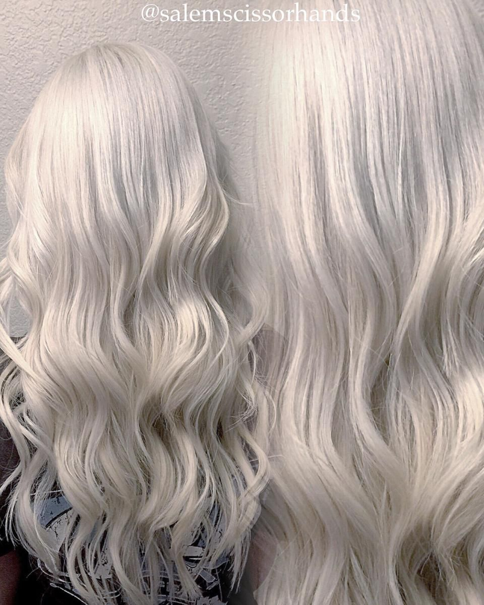 Shades Of Blonde The Journey To Silver Shades Of Blonde Silver Hair White Hair Color