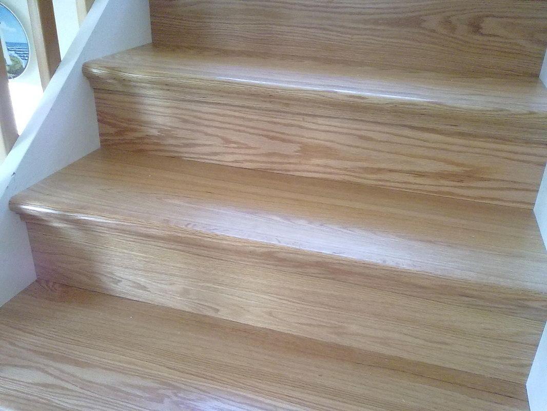 Staircase Remodel With NuStair By Skyro Floors