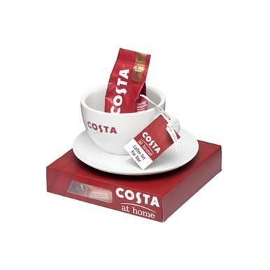 Costa coffee set for one