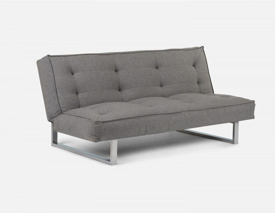 Prime Clic Sofa Bed Grey Futon Convertible Grey Sofa Bed Pdpeps Interior Chair Design Pdpepsorg