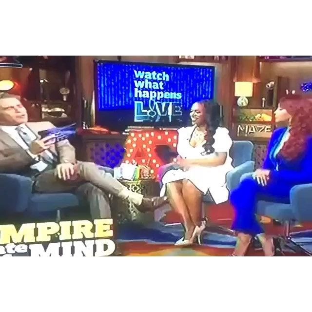 Vivica A. Fox 'insinuates' her ex 50 Cent is gay: 'He looked like a booty snatcher to me'- http://getmybuzzup.com/wp-content/uploads/2015/11/550608-thumb.jpg- http://getmybuzzup.com/vivica-a-fox-insinuates-50-cent/- By theGrio Vivica A. Fox just gave all of the tea on Bravo's Watch What Happens Live!  Fox appeared on Watch What Happens Live! to promote her new TV One film Royal Family Thanksgiving. However she set social media on fire when Andy Cohen asked her t