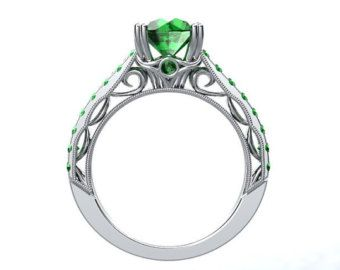 Engagement Ring. Looks like something out of Lord of the Rings! :)