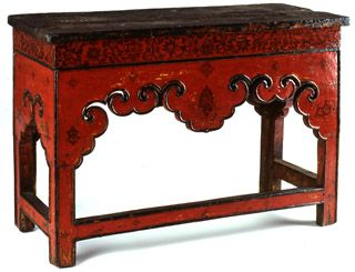 Genial Tibetan Furniture By Chris Buckley