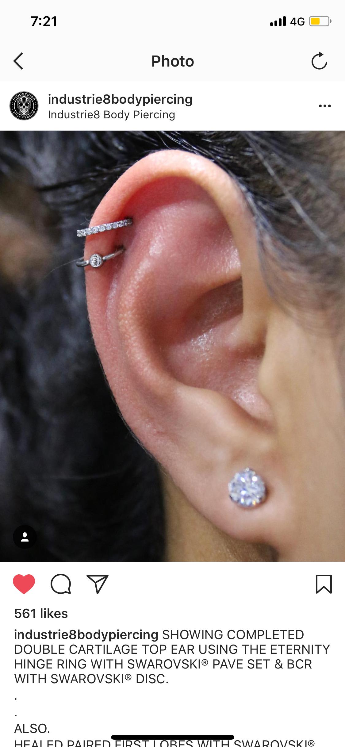 Double nose piercing  Pin by Kaitlyn Bird on Piercings  Pinterest  Piercings