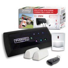 Alarme Maison Connectee Sans Fil Evology Pack New Zen Maison Connectee Camera Surveillance Produits