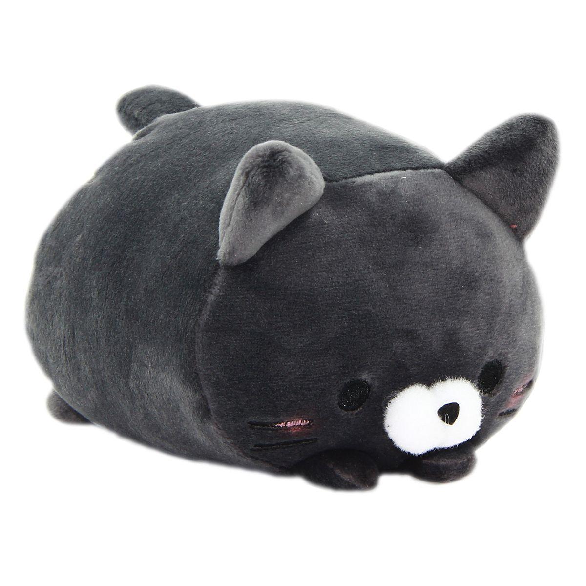 Predownload: Plush Cat Squishy Toy Super Soft Stuffed Animal Neko Black Soft Stuffed Animals Neko Cats [ 1200 x 1200 Pixel ]