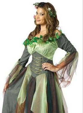 Mother Nature Earth Fairy Dress Adult Halloween Costume | eBay