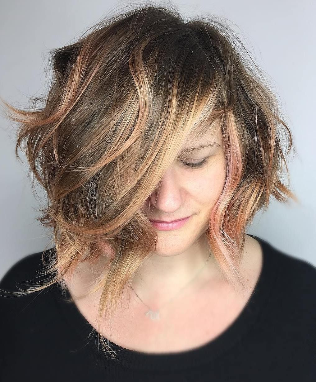 50 Super Cute Looks with Short Hairstyles for Round Faces | Short hair styles for round faces ...