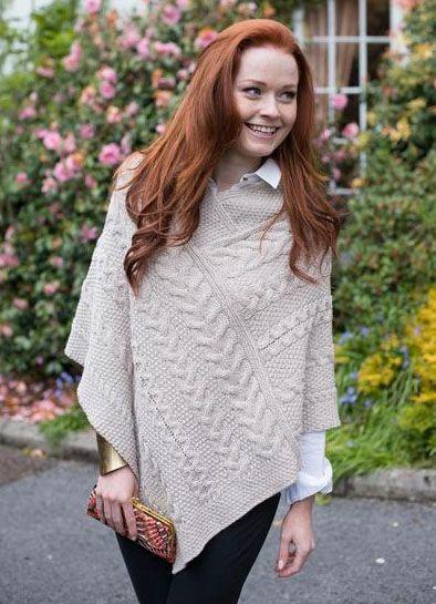 Aran Sweater KnittingCrochet PonchoPuikoilla Pinterest Et 80wOPnk