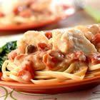 Seafood Tomato Alredo