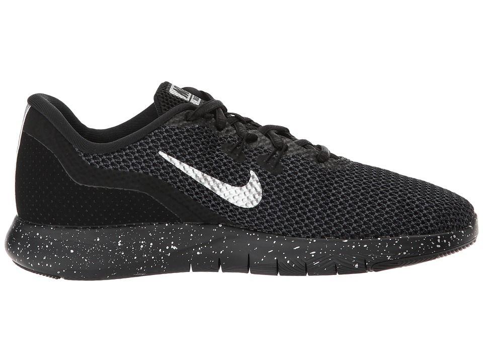 5ee84e2a40e5 Nike Flex TR 7 Premium Women s Cross Training Shoes Black Chrome Anthracite