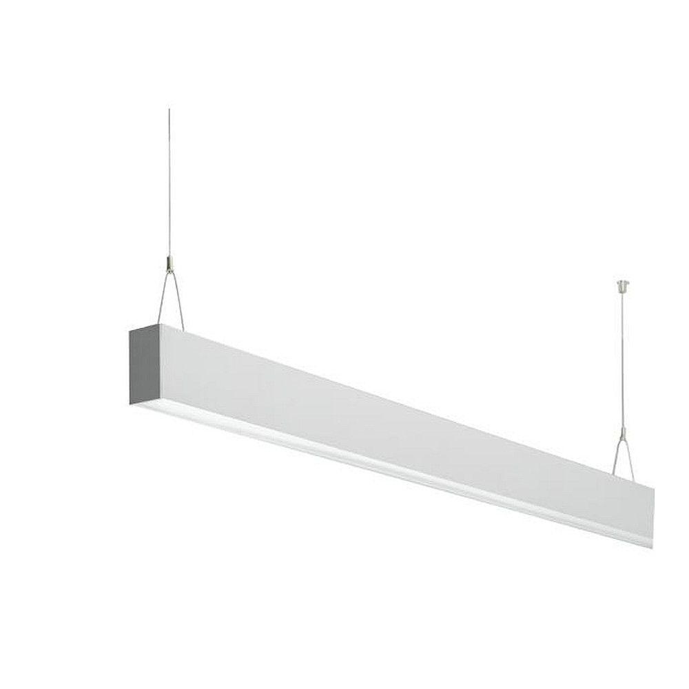 LED Pendelprofilleuchte BIRO40, 114.4cm, direkt/indirekt, UGR<19, mikroprismatisch, CRi >90, DALI dimmbar, 46W 2700-6500K