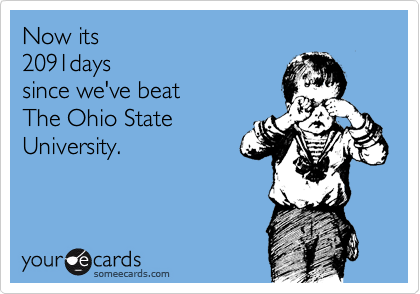 THE OHIO STATE UNIVERSITY BUCKEYES ARE NUMBER #1!!!