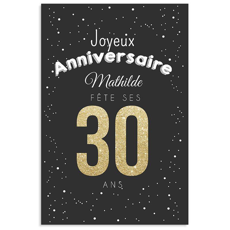 carte invitation anniversaire : carte invitation anniversaire 30 ans - Invitations de Cartes ...