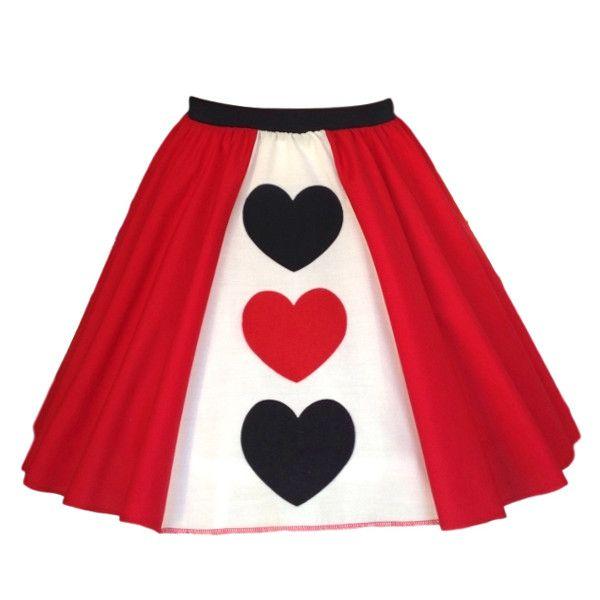 Girls Queen of Hearts Skirt