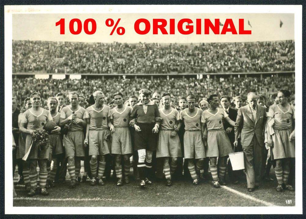 WK2 PK FOTO   SCHALKE 04 GELSENKIRCHEN   Dt. FUSSBALL MEISTER 1939/