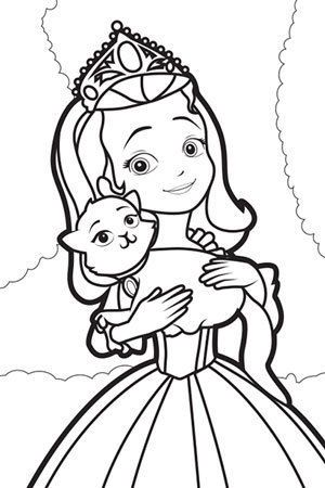 princess sofia coloring page google sgning
