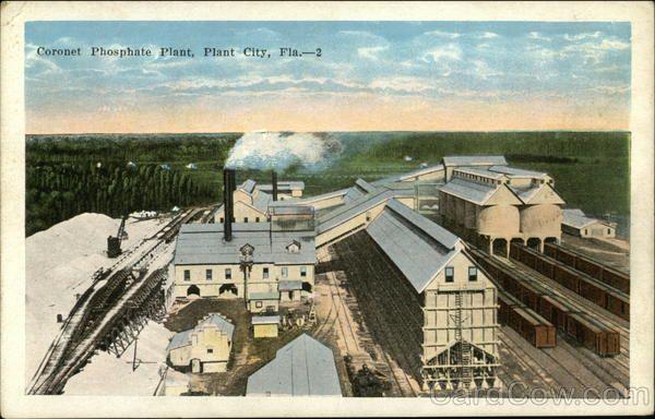 Coronet Phosphate Plant Plant City Fl Plant City Florida Plants City