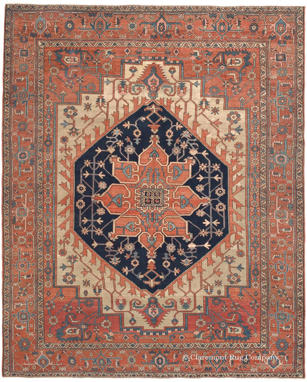 Serapi Northwest Persian 9ft 10in X 12ft 2in Circa 1875 Rugs Rugs On Carpet Persian Rug