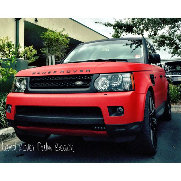 Carbon Fiber Wrap on a Range Rover Sport #landroverpalmbeach #lrpb #lr4x4 #best4x4xfar #landrover #landroverusa #landy #rangerover #rangeroversport