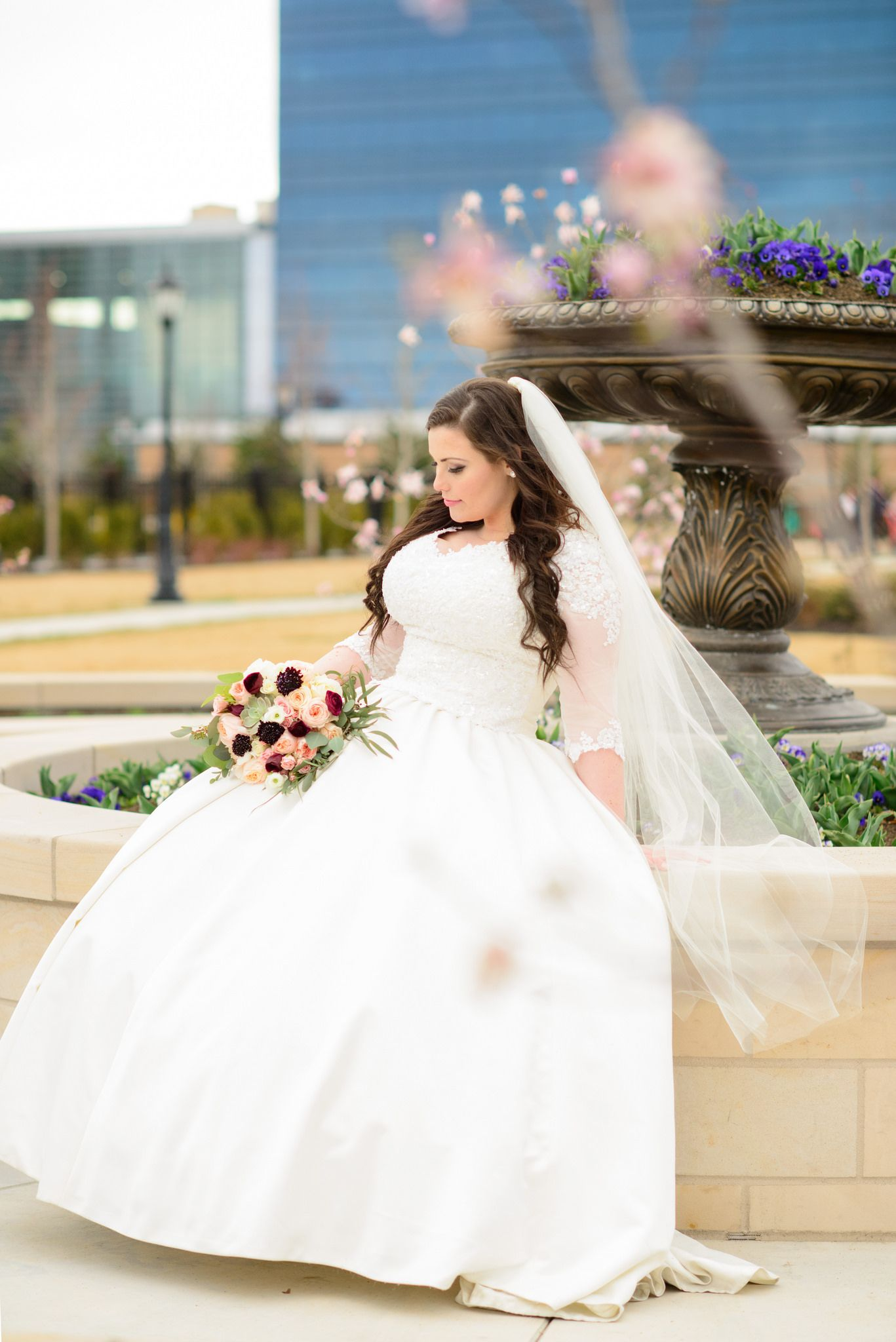 Provo City Center Temple wedding and bridal photographer wedding