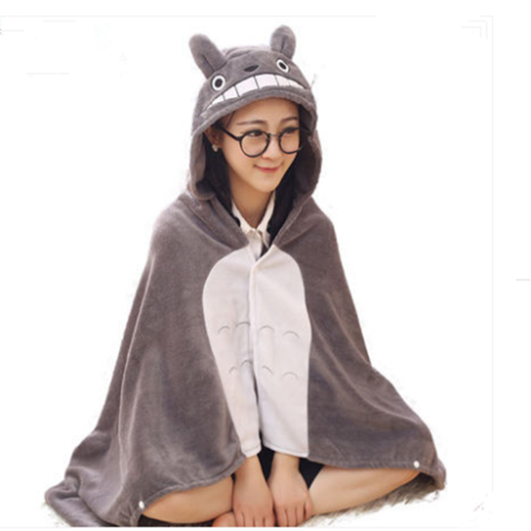 Totoro cloak air conditioning blanket YV273 (With images