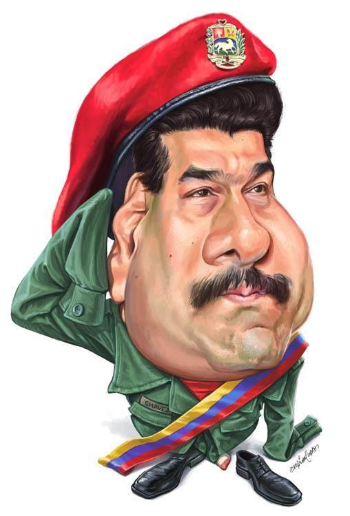 Resultado de imagen para Caricatura última de Maduro